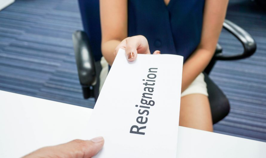 Letter of resignation: how to properly write one