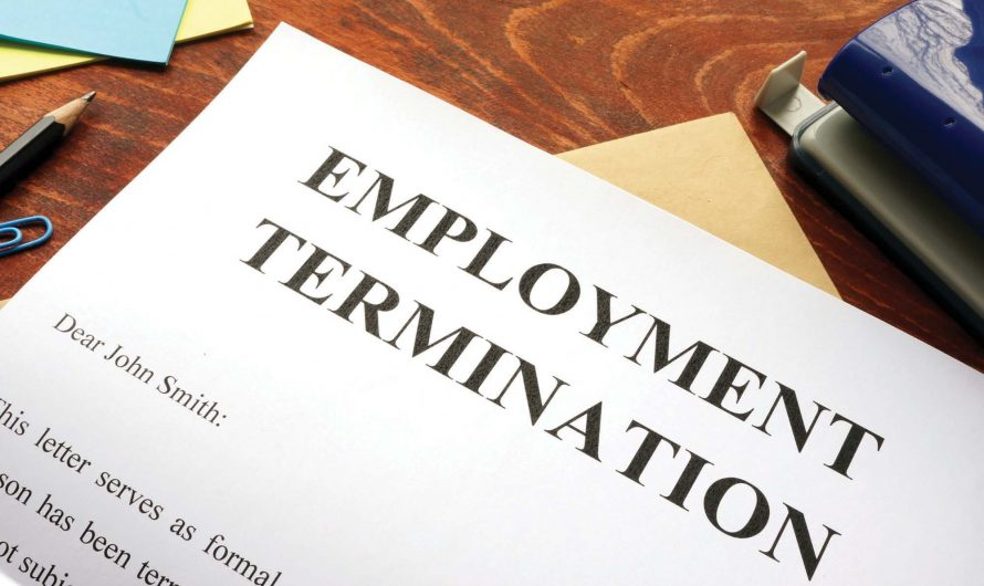 Termination template: this is how you write your termination correctly